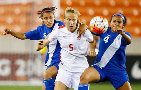 Équipe du canada féminine de soccer) is overseen by the canadian soccer association and competes in the confederation of north. Midfield of dreams motivates Canadian soccer player Quinn ...