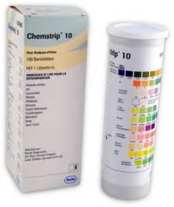 Chemstrip 10 Urine Test Strip