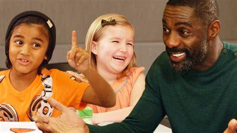 Idris Elba Gets Valentine's Day Advice from Kids // Omaze ...