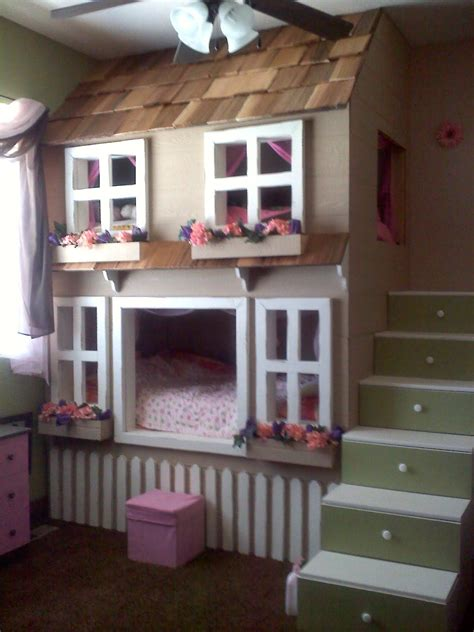 House Bunk Beds Cool Oh My Goodness This Would B So