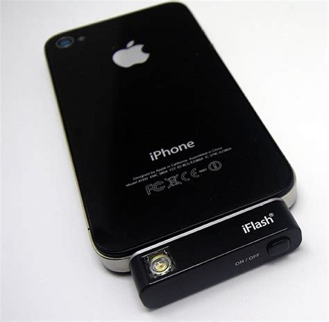iphone led flash iflash external iphone light led flash