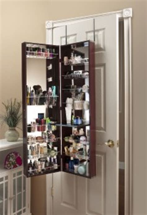 the door makeup armoire mirror cosmetic organizer make up organizer armoire