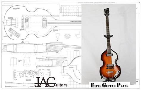 bass headstock template danelectro hofner violin bass plans by jaguitars