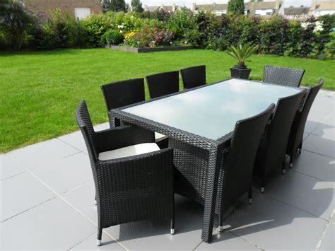 Table Jardin Resine Tressee Table Metal Jardin