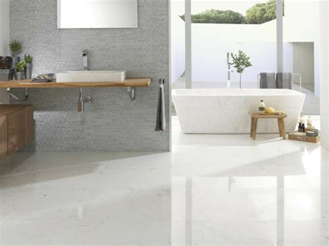 Modern Flooring In White For Your Comfortable Home