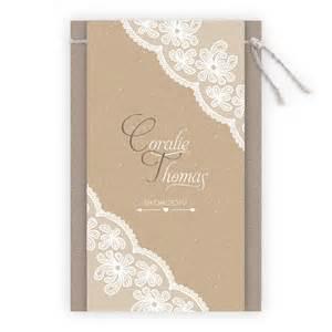 papier faire part mariage faire part mariage retro effet dentelle ton camel sur papier kraft n95c242 faire part