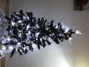 Noel Noir Et Blanc : decoration sapin de noel noir et or ~ Melissatoandfro.com Idées de Décoration
