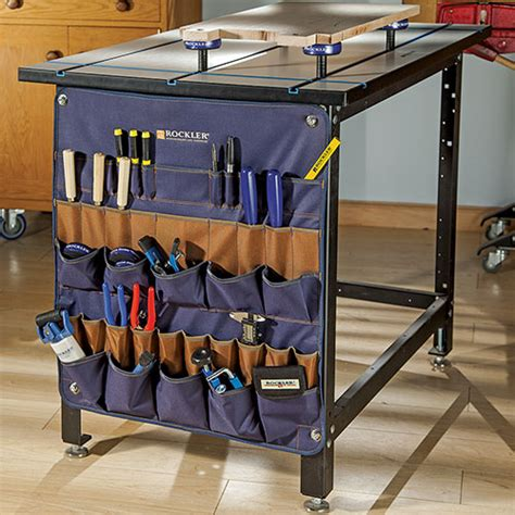 portable storage system  rockler belt pouches