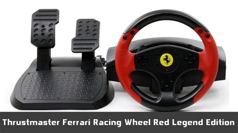 muj pohled na thrustmaster ferrari red legend edition
