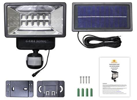 solar security light  motion sensor