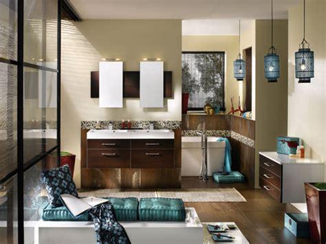 photo guide de la salle de bain salle de bain en bois exotique sombre weng 233