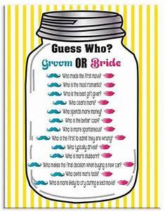 bridal shower game bridal shower games pinterest With wedding couple shower games