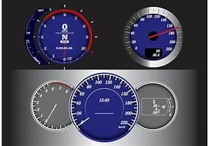 Measurement Speedometer Tabs Vector - Download Free Vector ...
