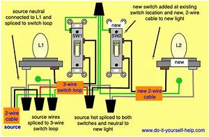 Wiring Diagram To Add A New Switch And Light Fixture