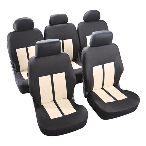 jeu complet de housses universelles voiture norauto new york 233 cru noires monospace norauto fr