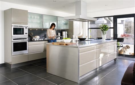 Gray Kitchen Cabinet Ideas - contemporary kitchens refined visual appeal