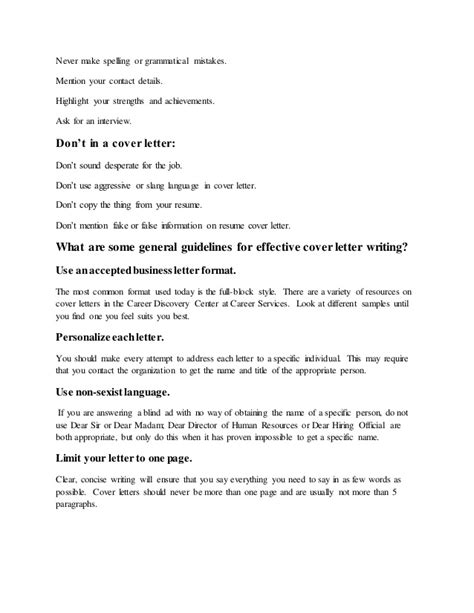 what makes a cover letter for a what is a cover letter