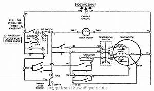 Electrical Wiring Diagram Of Washing Machine Simple