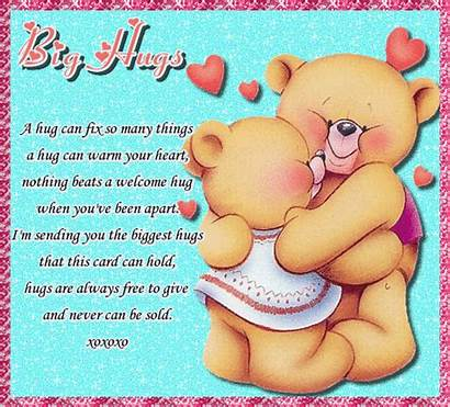 Hugs Hug Card
