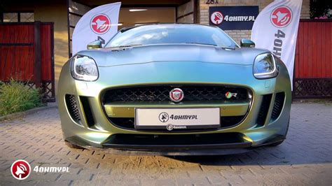4ohmy Jaguar F-type R Car Wrapping