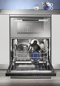 Petit Lave Vaisselle 6 Couverts : lave vaisselle et four en duo l appareil associe un lave vaisselle 4 programmes et 6 couverts ~ Farleysfitness.com Idées de Décoration