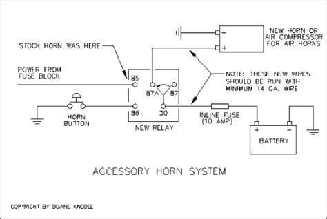 rivco air horn problem relay help page 2 harley