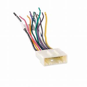 Metra 70-7552 Car Stereo Wiring Harness For 2007