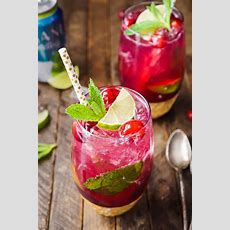 Cranberry Mojito Punch  Sugar & Soul