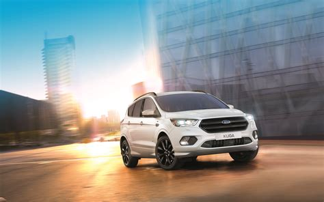 sporty new ford kuga st line adds fourth model to st line range great britain ford media center