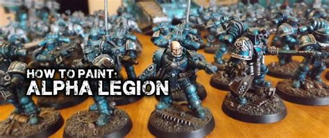 How To Paint Alpha Legion  Battle Brothers