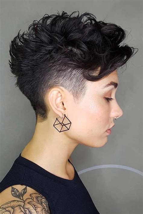 21 super cool taper haircut styles pixie cut curly