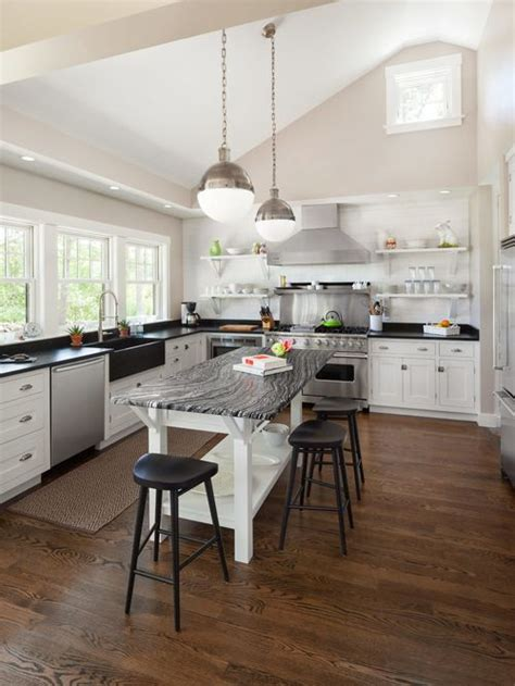 open kitchen island houzz