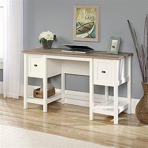 SAUDER Cottage Road Soft White Desk 418072   The Home Depot