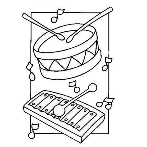 coloriage instruments de musique th 232 me la musique