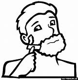 Razor Shaving Shave Coloring Pages Chapter Oneself Template Spanish sketch template