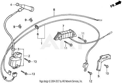 honda eb5000x a generator jpn vin ea7 3000001 parts diagram for ignition coil
