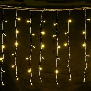 4m, 0, 6m, Led, Curtain, Fairy, Lights, Warm, White, U2013, 1stavenue