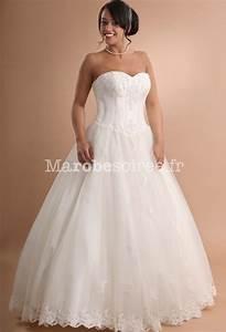robe de mariee bustier en dentelle avec broderie evasee With robe de mariée dentelle avec bijoux or homme