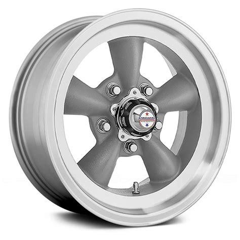 american racing vnd torq thrust  pc wheels gray