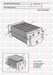 Baxi Bermuda 57  4 Manual  Heat Exchanger Diagram