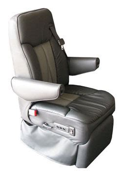 rv captains chairs with integrated seat belts rv furniture seats custom motorhome leather seat sedona is