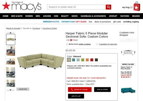 Red Shed Furniture Goldsboro by 20 Macys Elliot Sofa Sectional Grey Tufted Sofa