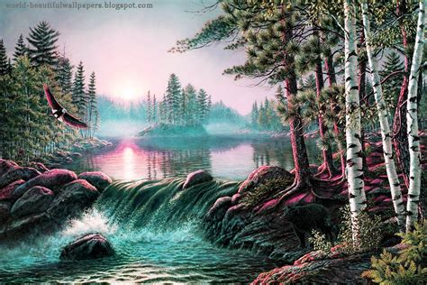 Nature Painting Wallpaper nature painting wallpaper nature wallpaper