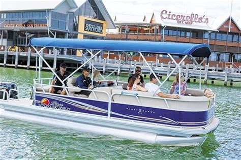 Bass Tracker Boats For Sale In Australia by Sun Tracker Barge 22 Dlx Pontoon Boat Review Trade