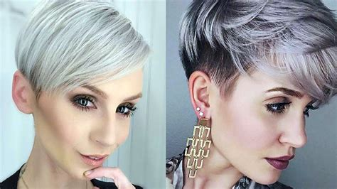 Short Haircuts 2018 Women 💙 Pictures Of Short Haircuts For