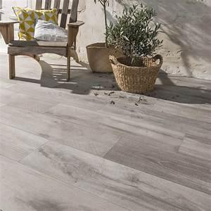Treillis Bois Leroy Merlin : carrelage sol gris effet bois heritage x cm ~ Melissatoandfro.com Idées de Décoration