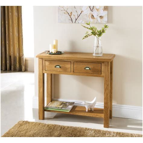 oak sofa table b m wiltshire oak console table 319242 b m