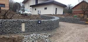 Mur En Gabion : mur de soutenement en gabion prix 15 soutenement en ~ Premium-room.com Idées de Décoration