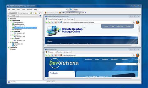 remote access remote desktop manager freeware remote