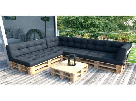 canape exterieur en palette coussin pour palette les canapes en bois coussin pour